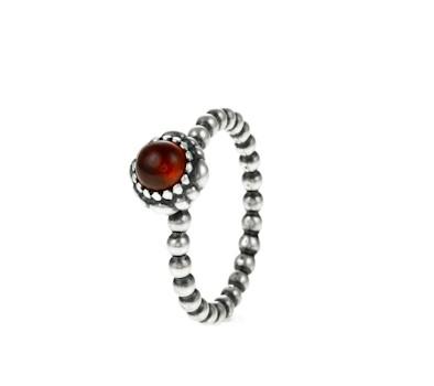 pandora silver garnet january birthstone ring 190854ga. Black Bedroom Furniture Sets. Home Design Ideas