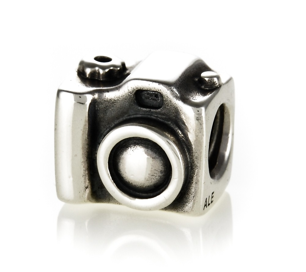 pandora silver camera charm 790961 john greed jewellery