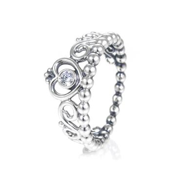 Pandora Princess Tiara Ring 190880cz John Greed Jewellery