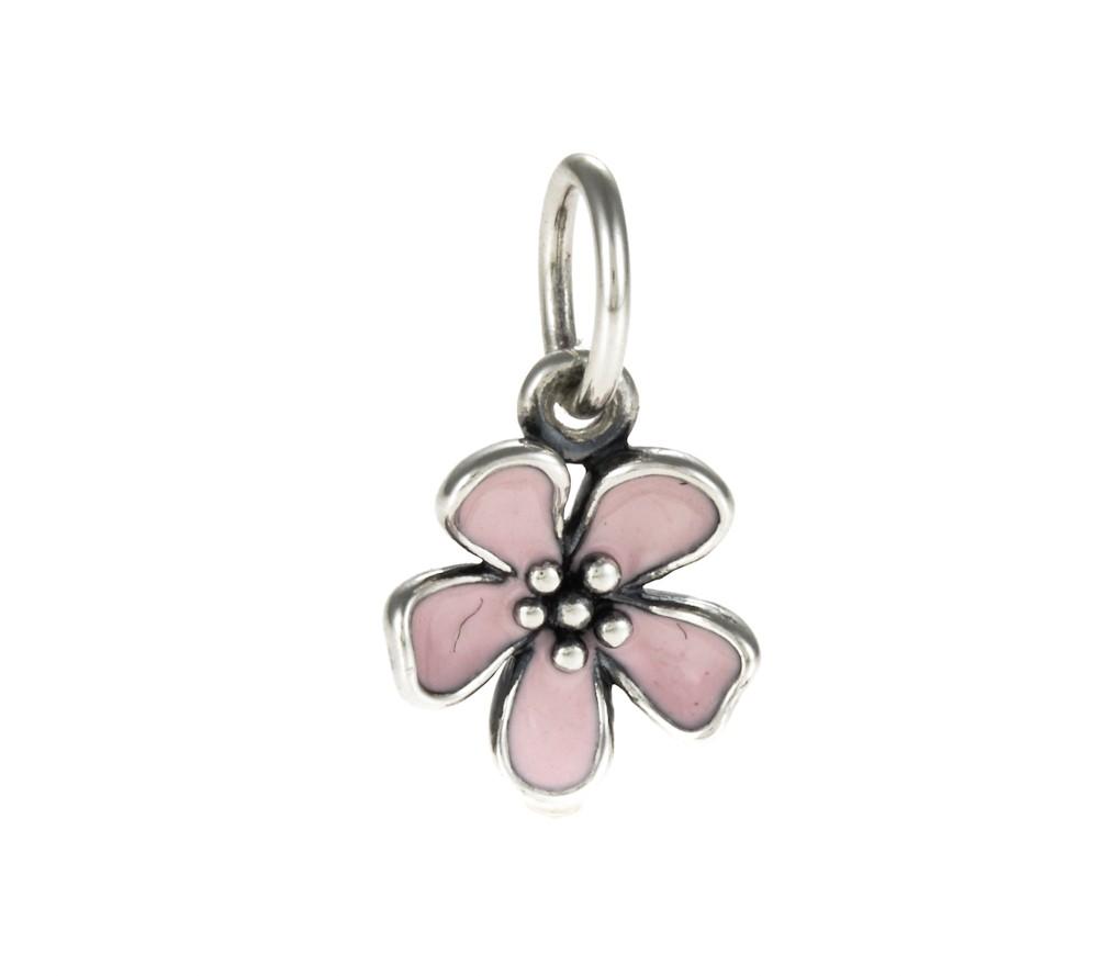 Pandora Cherry Blossom Flower Necklace Pendant 390347EN40