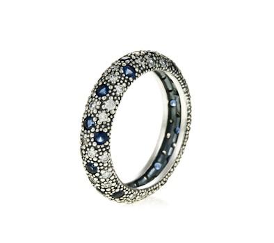 Pandora Blue Midnight Blue Ring