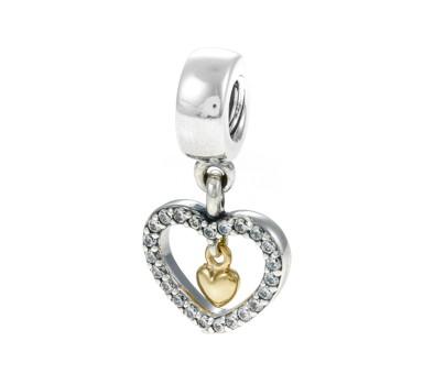 Pandora forever in my heart charm 791421cz john greed jewellery aloadofball Gallery