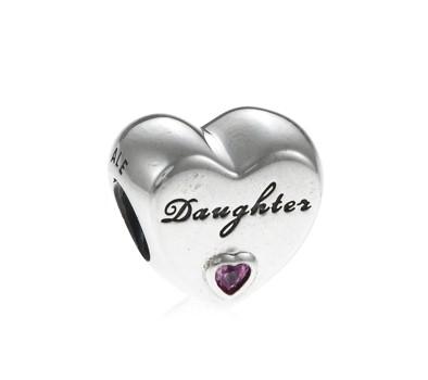 Pandora daughter s love heart charm 791726pcz john greed jewellery