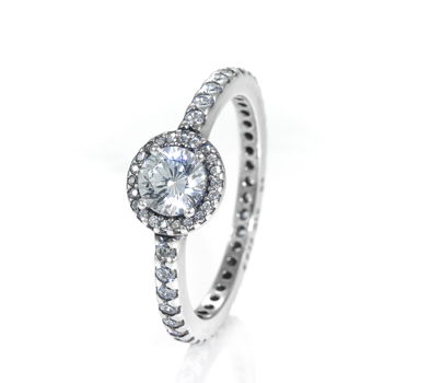 Pandora Classic Elegance Ring 190946cz John Greed Jewellery