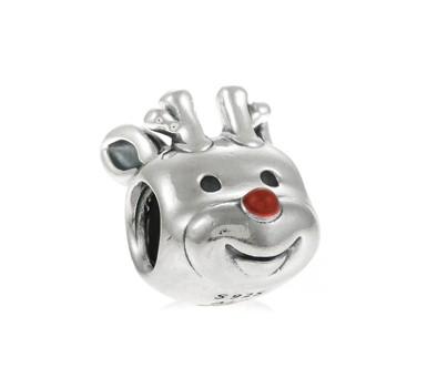 Pandora Red Nosed Reindeer Charm 791781en39 John Greed