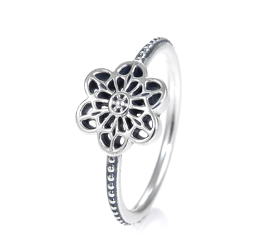 b06aa4e9c PANDORA Floral Daisy Lace Ring 190992.