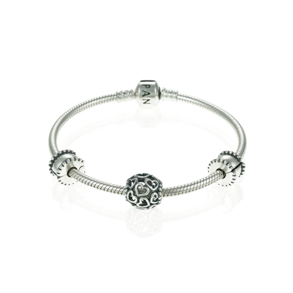 Pandora Love  U0026 Promise Complete Bracelet