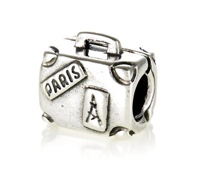 pandora silver suitcase charm 790362 greed jewellery