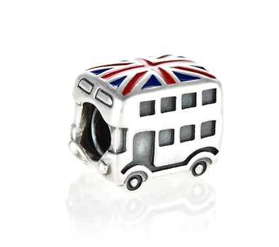 Pandora Silver London Bus Charm 791049er John Greed